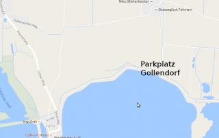 Gollendorf Parkplatz