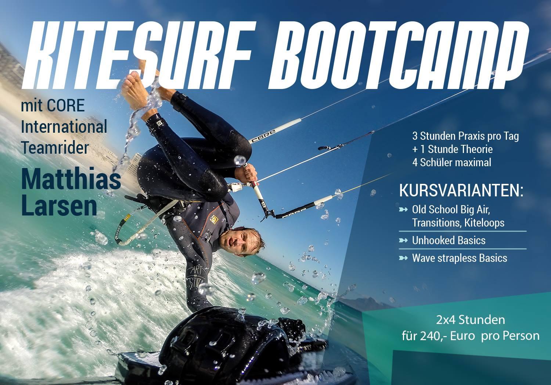 Kitesurf Bootcamp mit Matthias Larsen